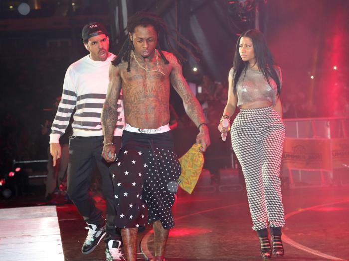 Drake, Lil Wayne, Nicki Minaj