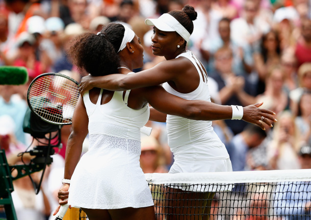 Serena Williams defeats Venus Williams in Wimbledon