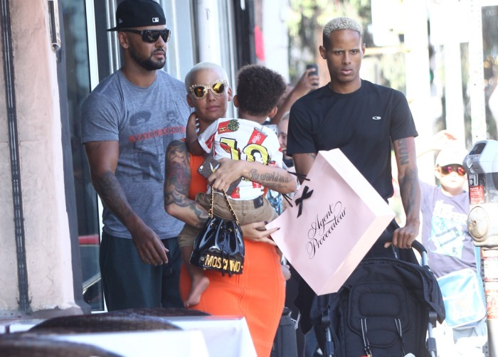 Amber Rose and Sebastian