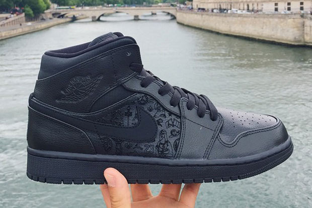 "Air Jordan 1 Quai 54 ""Black Laser"""