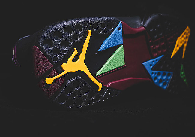 Air Jordan 7 Bordeaux 5