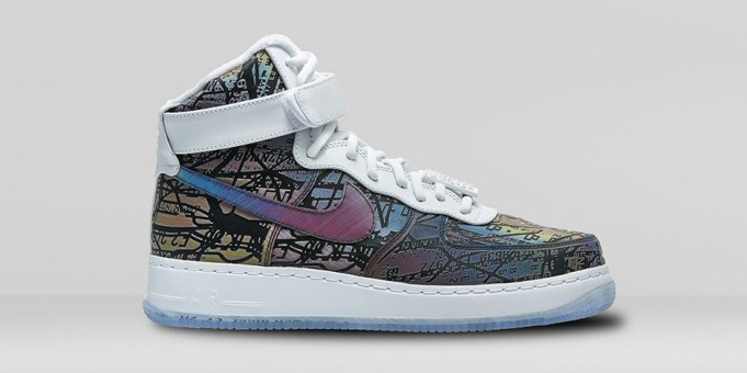 "Nike Air Force 1 High Comfort Premium ""Quai 54″"