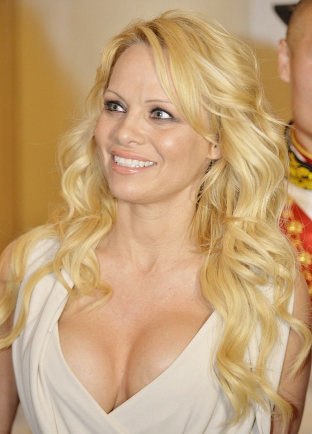 We are astonished at the Blind Reveal reported today at Crazy Days and Nights about former Baywatch beauty, now part-time realty-show star, Pamela Anderson.