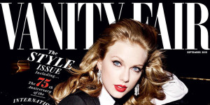 taylor swift VF cover